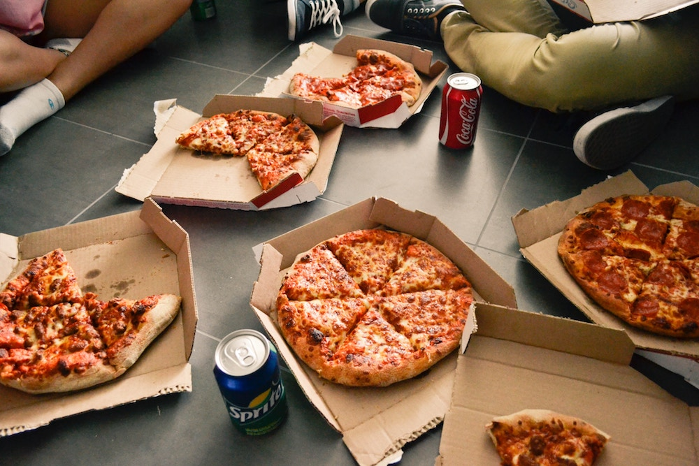 Our biggest tip to take the stress out of moving? Order a takeaway Pizza!