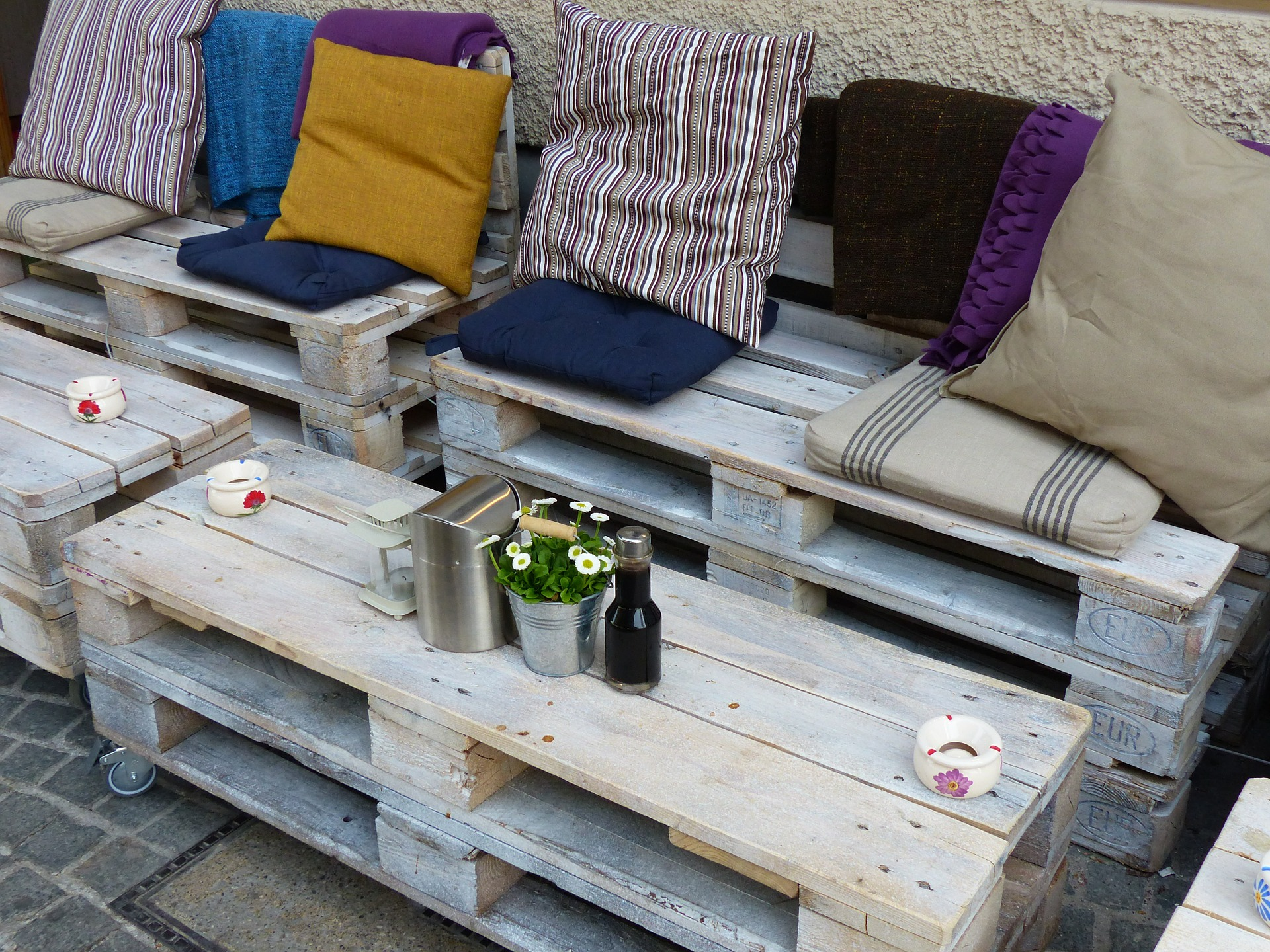 Quirky furniture for your new build garden